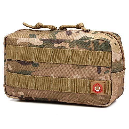Orca Tactical MOLLE Horizontal Admin Pouch Utility EDC Tool Bag (Multicam)