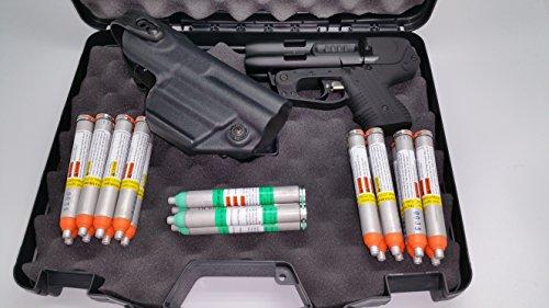 4 Shot Compact Pepper Spray Gun LE Bundle by Piexon