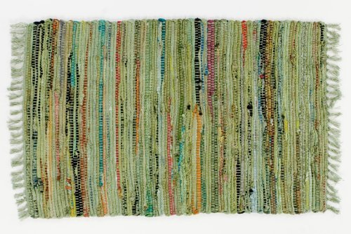 Sturbridge Country Rag Rug in Sage 24'' x 72'' by India Overseas Traders (Image #1)