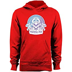 Kaleidoscopic Psychedelic Mario Super Mario Bros Mens & Womens cheap hoodies