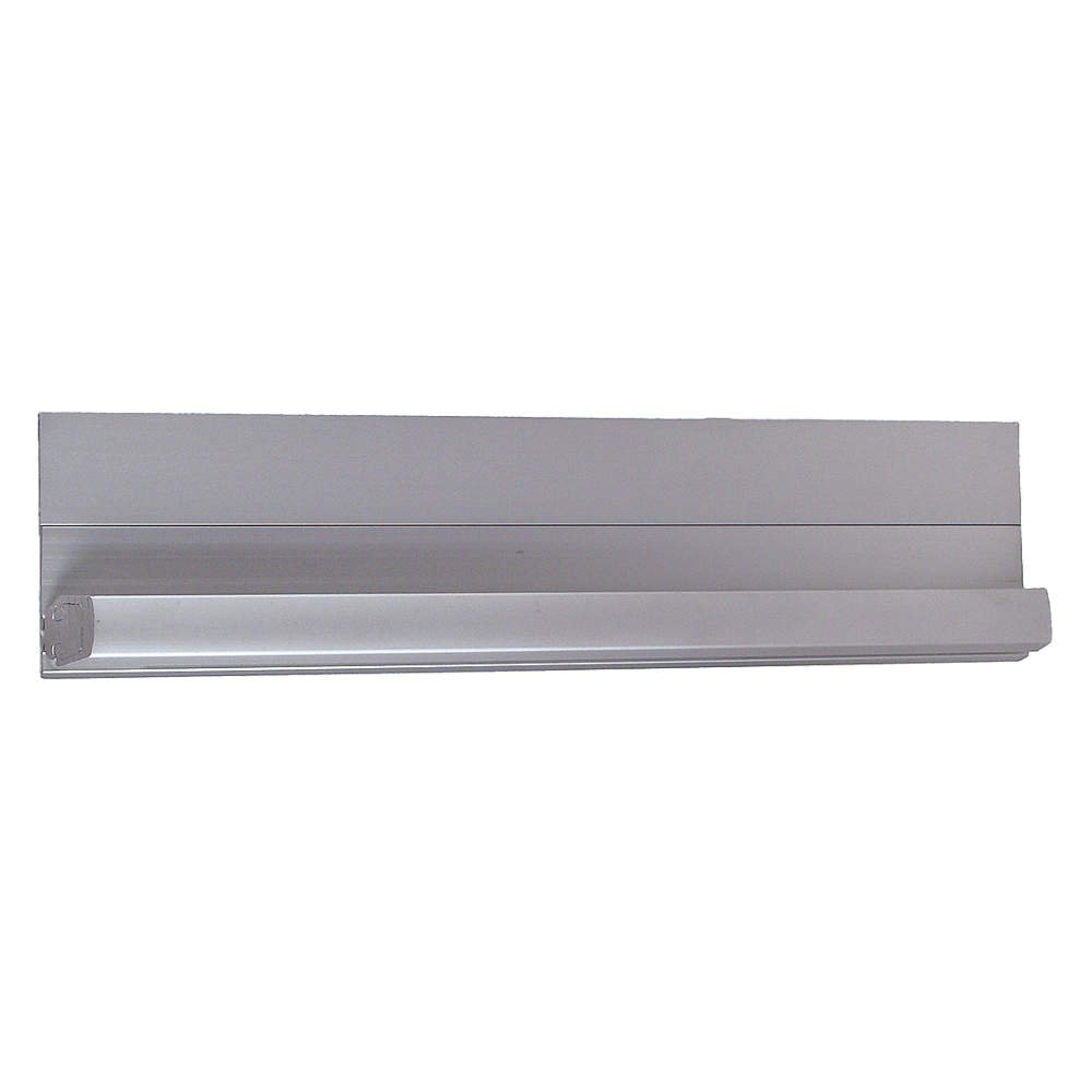 Pemko - CFS83HD1-HT-RH - 180 Continuous Hinge With Holes, Milled Aluminum Finish, 83 x 1-1/4