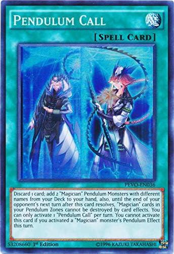 1x Super Rare Pendulum Call PEVO-EN036 1st Edition