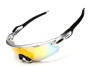 Gafas Polarizadas Deporte Bici Anti UV400 Gafas para Correr ...