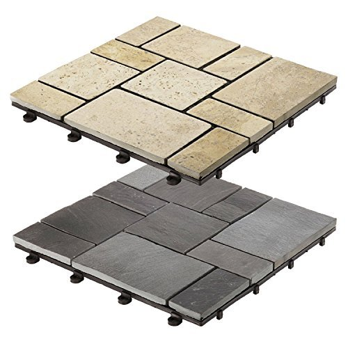 casa-pura-interlocking-garden-terrace-decking-flagstone-paving-black-1-tile-30x30cm-multiple-tile-se