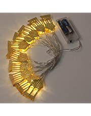 Ramadan Eid Fairy String Light Mubarak Garland Lights Lamp 1.65M 10 LEDs for Muslim Festival Supplies