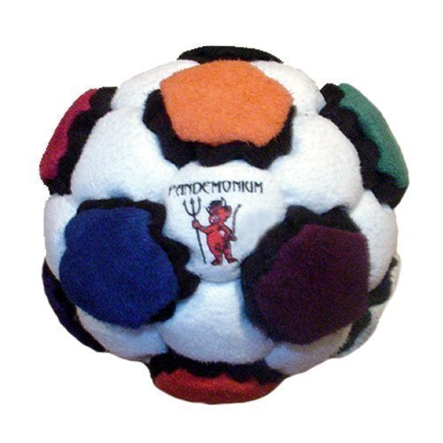 Prometheus Footbag 44 Panels Rare Hacky Sack Pro Bag Sand & Iron Weighted At 2.1 Onces by Pandemonium Footbag