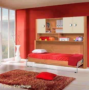 Schrankbett Kinderschrankbett Child Foldaway Bed Bett inkl ...
