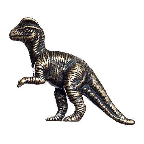 (Big Sky Hardware Sierra Lifestyles Dilophosaurus Dinosaur Knob, D6, Antique Brass)