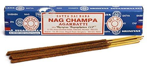 3 Packs Origional Nag Champa Incense Sticks Joss Insence - Insense 15g Box NagChampa Agarbatti by Siddhratan