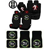 zombie seat covers for trucks - UAA 26pc Zombie Outbreak Response Vehicle Universal Seat Covers & Carpet mat Set