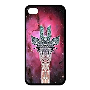 High Quality Customizable Durable be Rubber Material Cute Giraffe iphone 5 5S inside Back you Cover Case child