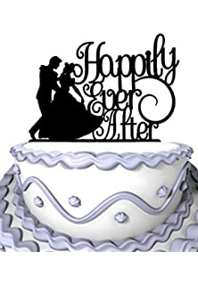 Amazon gay wedding cake toppergay cake toppersame sex cake meijiafei wedding cake topper humble girl happily ever after for anniversary party cake decoration junglespirit Choice Image