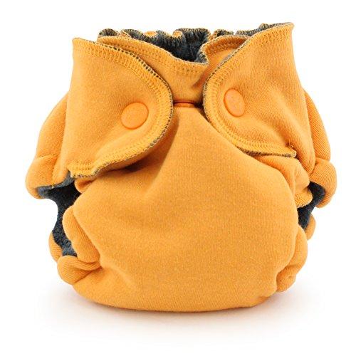 Ecoposh OBV Newborn Fitted Cloth Diaper, Saffron