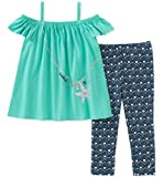 Nautica Toddler Girls' Leggings Set, Blue, 4T