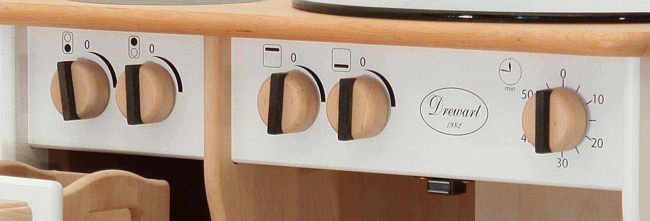 Delicieux 931 2044 Drewart Kinderküche Spielküche Massivholz: Amazon.de: Spielzeug