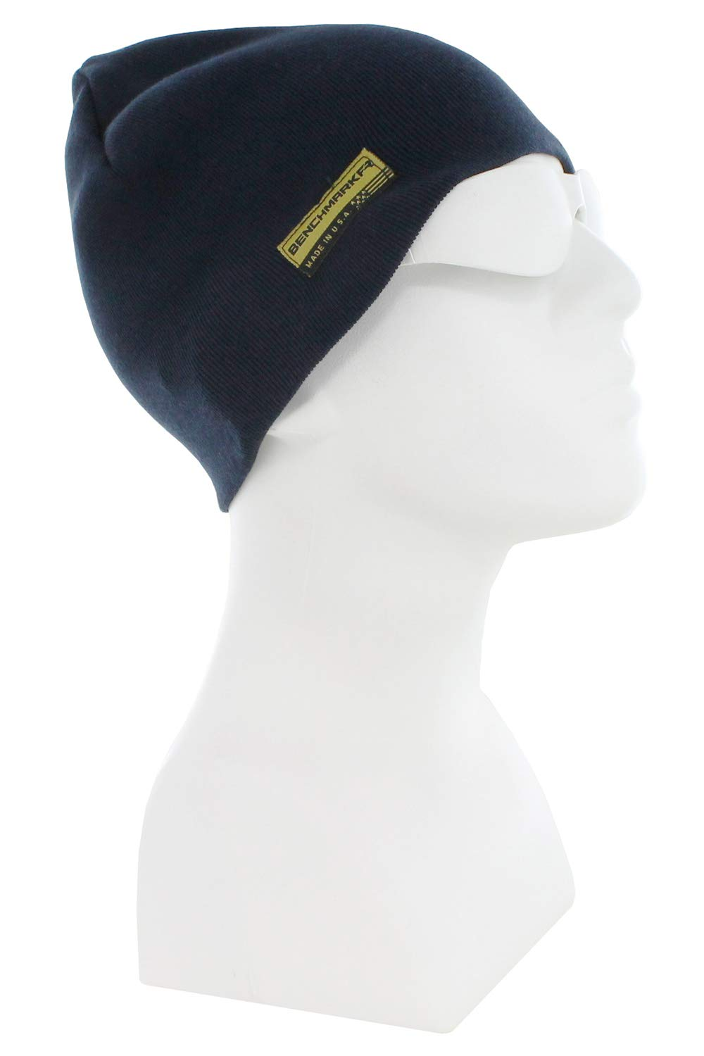 Benchmark FR Flame Resistant Skull Cap, Navy, CAT 3, One Size, Made in USA by BENCHMARK FR