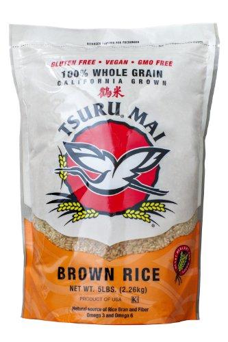 Tsuru Mai, California Brown Rice, 80 oz by Tsuru Ma