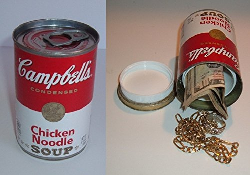 Campbells Chicken Noodle Soup Diversion Can Safe