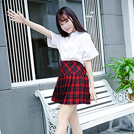 Falda de vestir traje de marinero japonesa estudiante viento ...