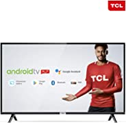 "Smart TV LED 32"" TCL 32S6500 Android Wi-Fi HDR - Inteligência Artificial Conversor Digital 2 HDMI"