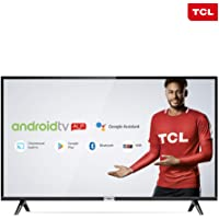 "Smart TV LED 43"" Android TCl 43s6500 Full HD com Conversor Digital Wi-Fi Bluetooth 1 USB 2 HDMI Controle Remoto com Comando de Voz Google Assistant"