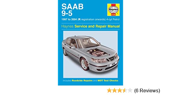 saab 9 5 1997 to sep 2005 haynes service and repair manuals a k rh amazon com Saab 9-5 Turbo 2001 saab 9-5 repair manual