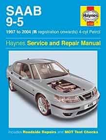 saab 9 5 1997 to sep 2005 haynes service and repair manuals a k rh amazon com 2004 saab 9-3 aero convertible owners manual Saab 9 3 Parts Diagram