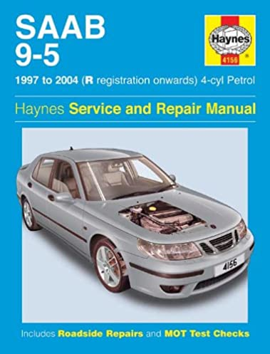 saab 9 5 1997 to sep 2005 haynes service and repair manuals a k rh amazon com Saab 9-5 Vacuum Hose Diagram 2011 Saab 9 5 Parts