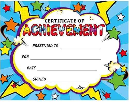 Certificate Superhero Certificates Classroom Students product image
