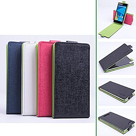 Amazon.com: MAUBHYA Hit Color Flip PU Leather Protective Case For Doogee Turbo Mini F1: Home Audio & Theater