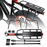 Addmotor Bicycle Touring Carrier Universal Adjustable Bike Carrier Rack Mount Cycling Cargo Racks Alloy Quick Release Seatpost Bike Frames Luggage Rear Rack