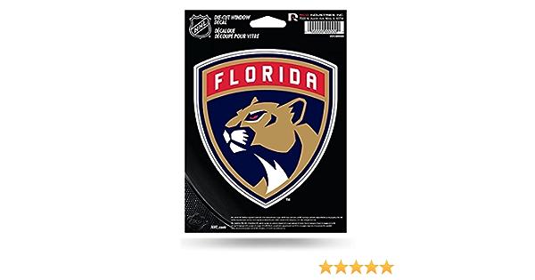 hotprint Panthers Hockey Florida Symbol Logo Car Bumper Sticker Decal 5 X 5