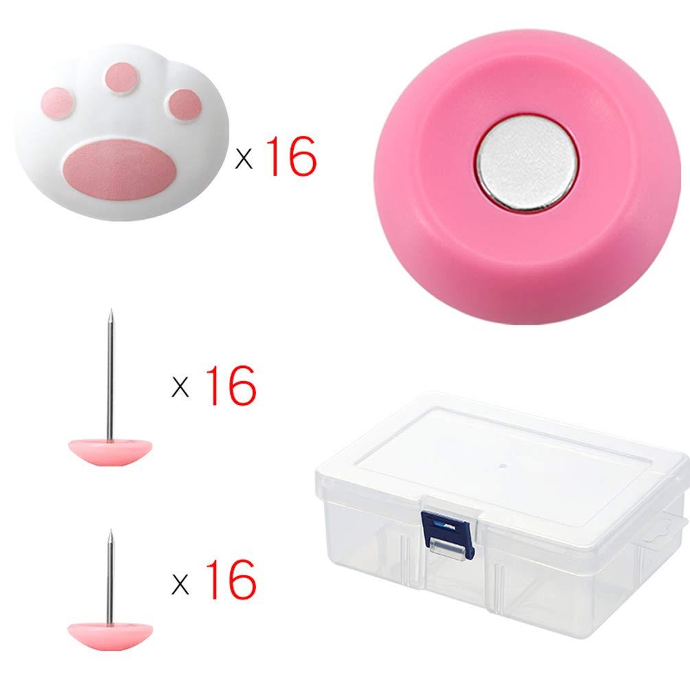Zmmyr 1 Set Magnetic Duvet Clips Quilt Fixator Blanket Duvet Cover Clips Cat Claw Shape Antislip Fixator