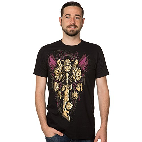 World of Warcraft Men's Paladin Legendary Class Premium T-Shirt (Black, 2X-Large) Photo #4