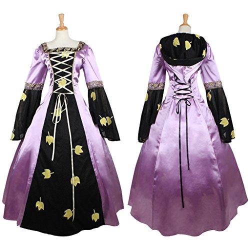 Ideas Renaissance Costume Faire (CosplayDiy Women's Medieval Renaissance Victorian Hooded Dress Costume)