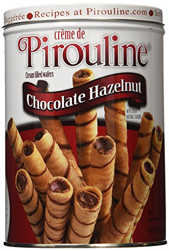 Creme De Pirouline Chocolate Hazelnut Wafers