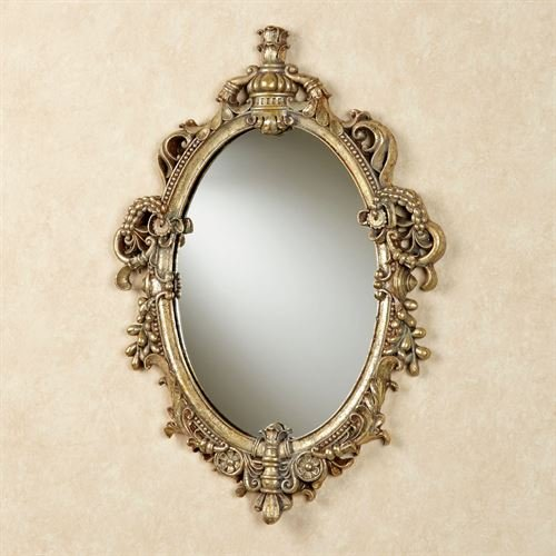 Touch of Class Livorno Wall Mirror Aged Gold