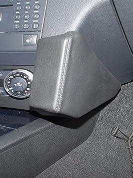 KUDA 091800 Halterung Echtleder schwarz f/ür Mercedes GLK ab 10//2008 bis 06//2015 X204