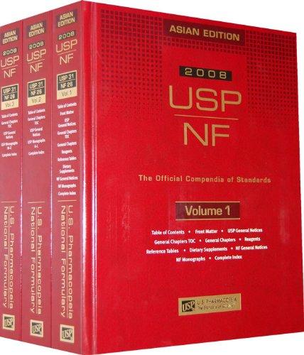 USP NF 2008 (United States Pharmacopeia/National Formulary)
