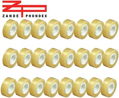 Pack 24 rollos cinta adhesiva Celo. Medidas: 25 metros longitud x 19mm de anchura cada unidad: Amazon.es: Oficina y papelería