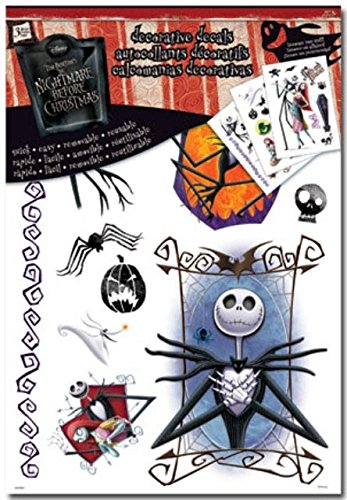 The Nightmare Before Christmas Decals - Stickers Nightmare Before Christmas