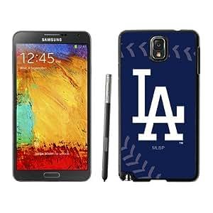 Samsung Galaxy Note 3 Case,Personalized Los Angeles Dodgers Black Samsung Galaxy Note 3 Case Cover