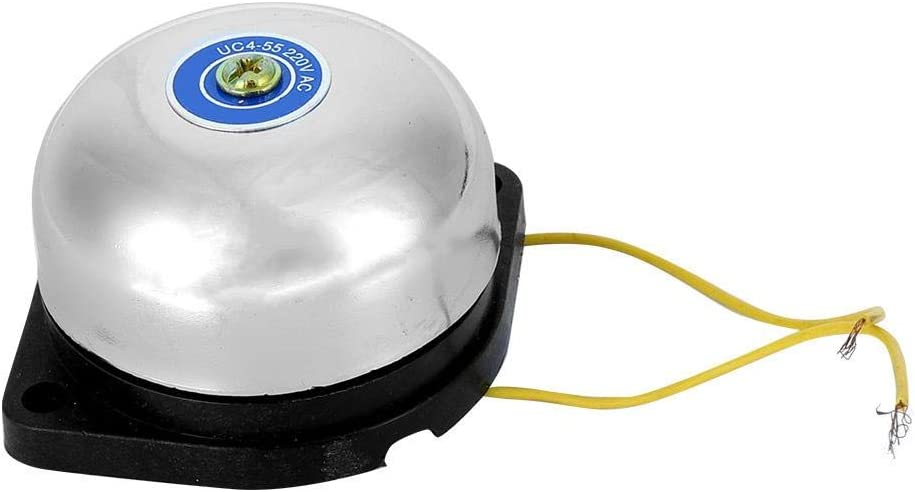 Campana eléctrica 220V 10A Tipo de huelga interior Campana de anillo para alarma Alarma de incendio Campana de uso múltiple Campana escolar: Amazon.es: Belleza