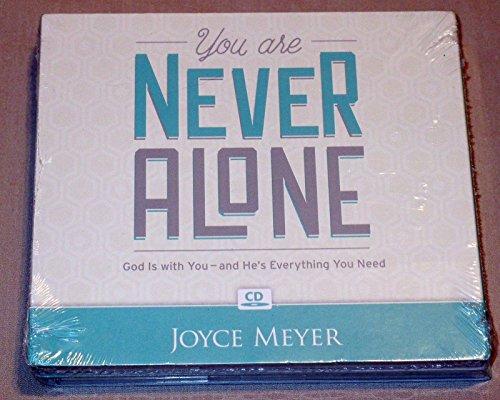 Valencia Series Four - Joyce Meyer - You Are Never Alone 4 Cd Christian Teaching Series ~ Brand New!!