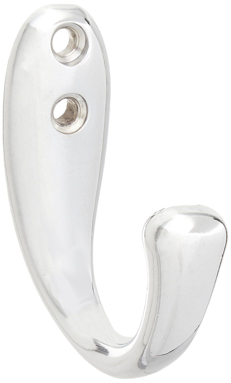 InterDesign Robe Hook Set of 1 Chrome