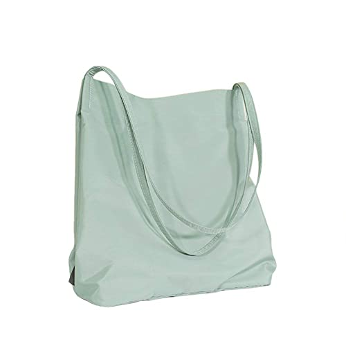 laaja valikoima iso ale parhaat kengät Belsmi Nylon Zipper Shoulder Bag Shopping Canvas Totes Bag ...