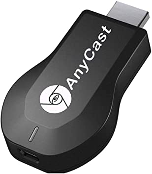 Anycast WiFi Display Dongle Wireless Screen Mirror 1080P HDMI TV Stick Wireless Display Adapter Support Miracast DLNA Airplay for iOS/Android/Windows/Mac Black Negro adaptador de cable: Amazon.es: Electrónica