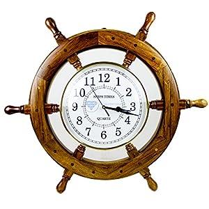 51Zp1Ja9rsL._SS300_ Coastal Wall Clocks & Beach Wall Clocks