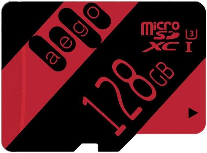 AEGO 64GB MicroSD Card U3 Micro SDXC Memory Card with Adapter U3 64GB