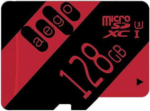 Genericc 128GB Micro SDXC Speicherkarte Class 10 f/ür Smartphones und Tablets, mit SD Adapter